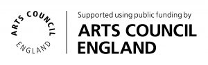 The Arts Council England logo.